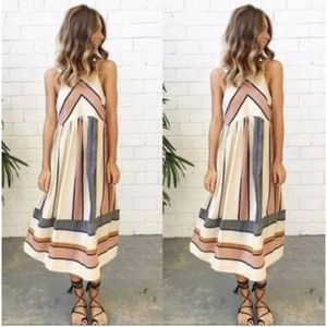 SHEIN Striped Dress Small